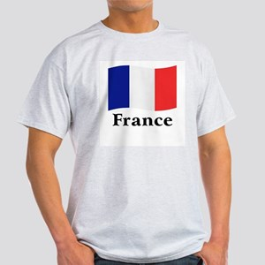French Flag Light T-Shirt
