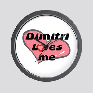 dimitri loves me  Wall Clock