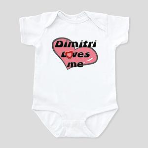 dimitri loves me  Infant Bodysuit