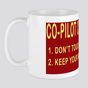 CoPilotRectSticker Mug