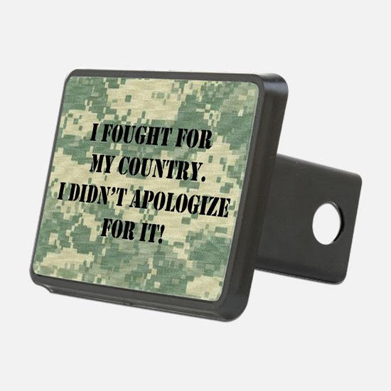 I Fought For My Country I  Hitch Cover