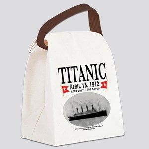 TG2RoundCompact Canvas Lunch Bag