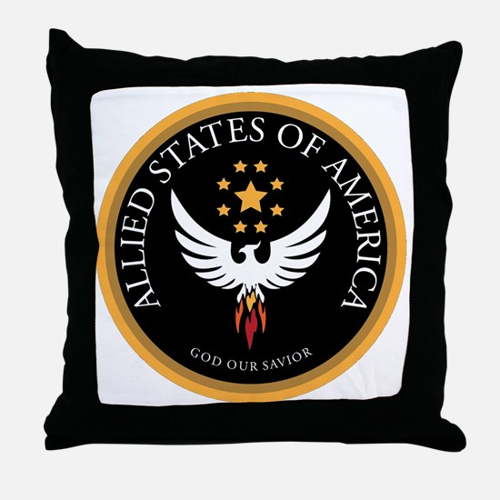 Allied States of America Throw Pillow
