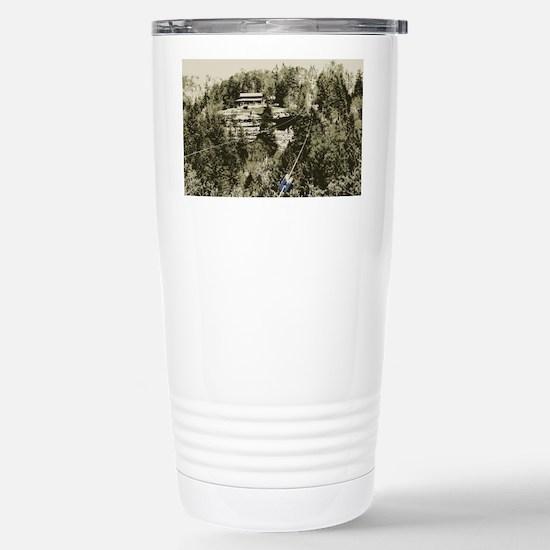 Red River Gorge Zipline Stainless Steel Travel Mug