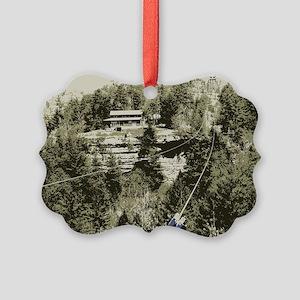 Red River Gorge Zipline Picture Ornament