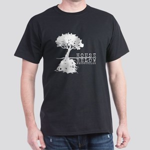 House Below (White) Dark T-Shirt