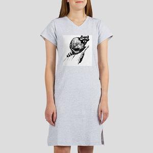 Vintage Raccon Women's Nightshirt