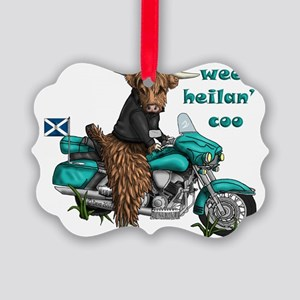 heilan coo Picture Ornament