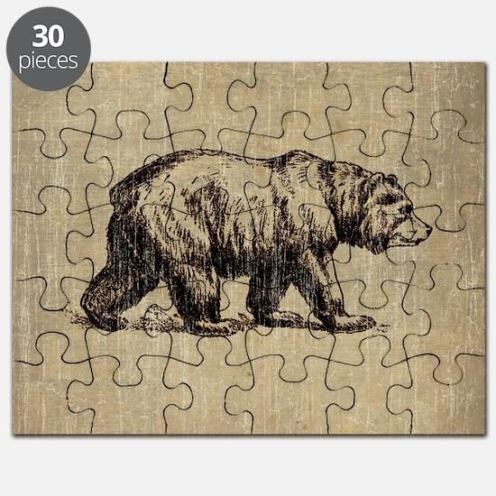Vintage Bear Puzzle
