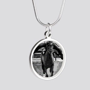 Baby Flo Silver Round Necklace