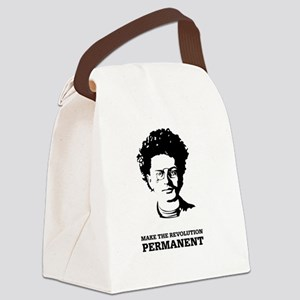 Leon Trotsky: Permanent Revolutio Canvas Lunch Bag