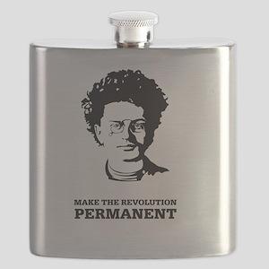Leon Trotsky: Permanent Revolution Flask