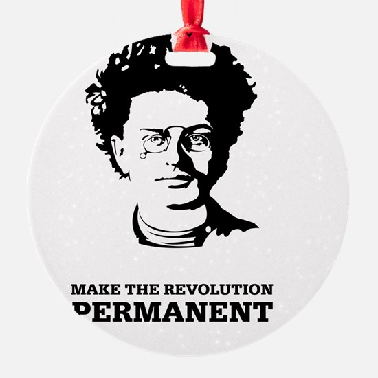 Leon Trotsky: Permanent Revolution Ornament