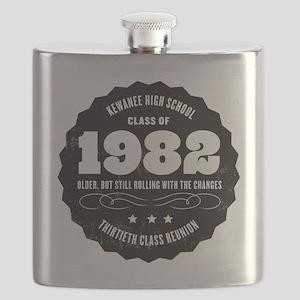 Kewanee High School - 30th Class Reunion - # Flask