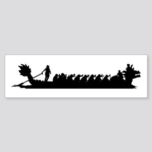 Dragon Boat Bumper Sticker