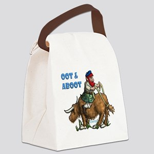 Oot and Aboot Canvas Lunch Bag