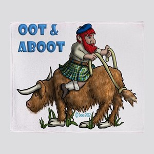 Oot and Aboot Throw Blanket