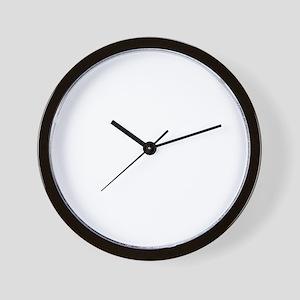 playBornTo1B Wall Clock