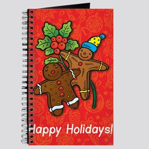 Gingerbread Men Journal
