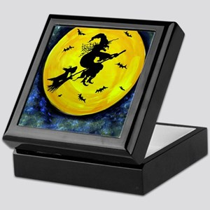 Scottie Moon  Halloween Witch Keepsake Box