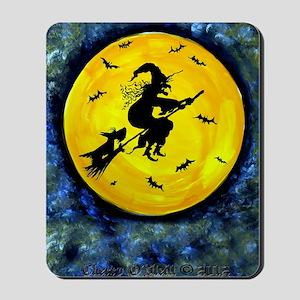 Scottie Moon  Halloween Witch Mousepad
