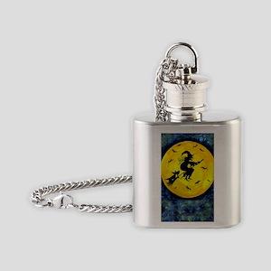 Scottie Moon  Halloween Witch Flask Necklace