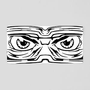 Eye_0129 Aluminum License Plate