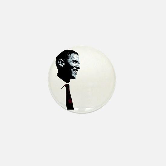 Vote for Barack Obama - Four more for  Mini Button