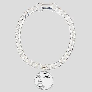 Marilyn Charm Bracelet, One Charm