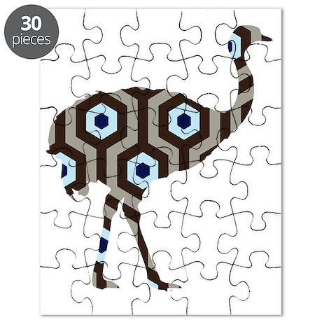 Ostrich Brown Hicks Puzzle