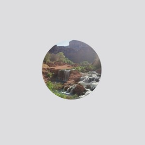 Rock Falls - Havasupai Reservation - G Mini Button