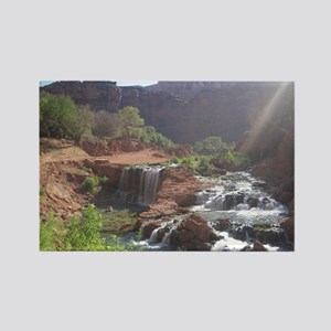 Rock Falls - Havasupai Reservatio Rectangle Magnet