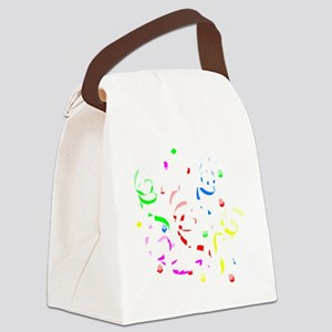 Celebrate Everything Canvas Lunch Bag