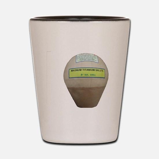 Titanium Shell Shot Glass