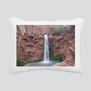 Mooney Falls - Havasupai Rectangular Canvas Pillow