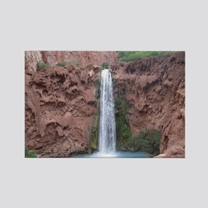 Mooney Falls - Havasupai Reservat Rectangle Magnet
