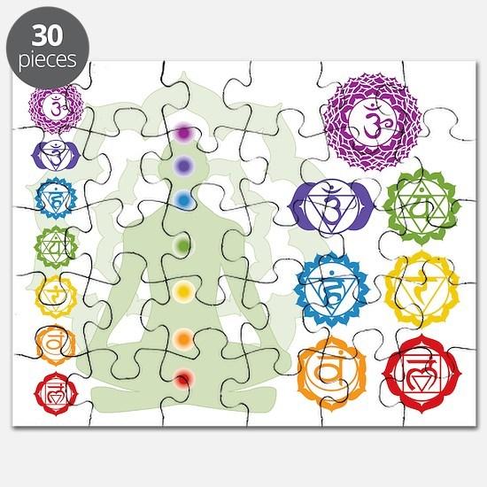 Chakras Puzzle