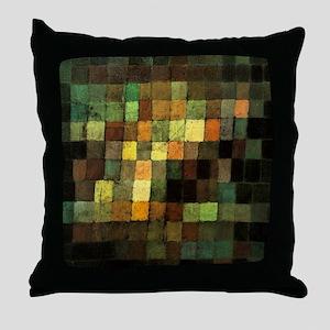 Paul Klee Ancient Sounds Throw Pillow