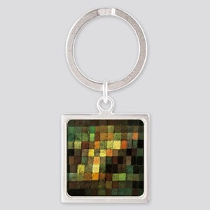 Paul Klee Ancient Sounds Square Keychain