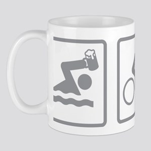 TriathleteBeerAthlon2C Mug