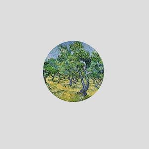 Van Gogh Olive Grove Mini Button