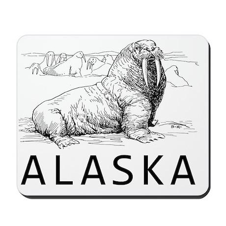 Vintage Alaska Mousepad