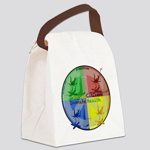 Social ramifications Canvas Lunch Bag