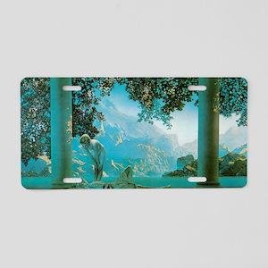 Maxfield Parrish Daybreak Aluminum License Plate
