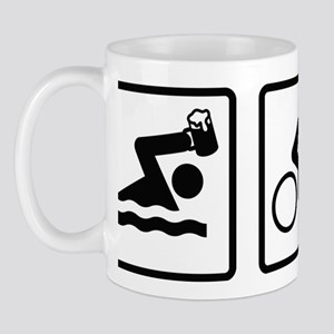TriathleteBeerAthlon2B Mug