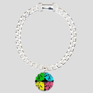 Babyflo Pop Art Charm Bracelet, One Charm