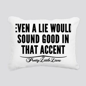 PLL Wren That Accent Rectangular Canvas Pillow