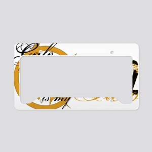 Gale Hero District 12 License Plate Holder
