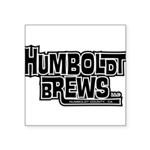 Humbrews Logo Block Sticker