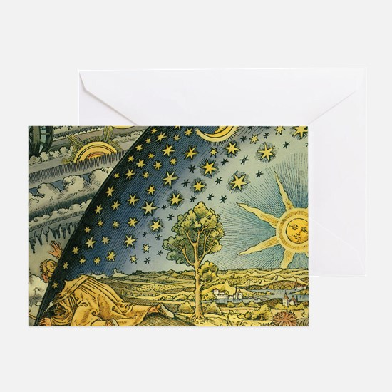 Magicf Greeting Card